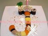 "Sushi ""Birthday Cake"" Recipe 