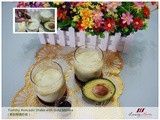 Yummy Avocado Shake with Gula Melaka Recipe ( 椰糖鳄梨奶昔 )