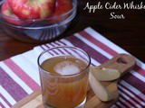 Apple Cider Whiskey Sour