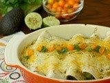 Avocado Enchiladas