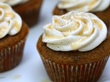 Brown Butter Pumpkin Latte Cupcakes
