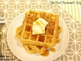 Btb: Buttermilk Waffles (and how to freeze waffles)