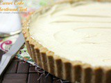 Carrot Cake Shortbread Tart with Cream Cheese Filling
