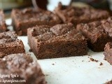 Db: Flourless Black Bean Brownies