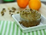 Db:Garam Masala Muffins with Orange Pistachio Glaze
