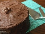 Devil's Food Cake with Chocolate Frosting