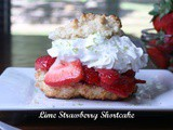 Lime Strawberry Shortcake