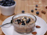 Overnight Cinnamon Brown Sugar Oatmeal