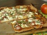Prosciutto, Goat Cheese and Jalapeno Pizza