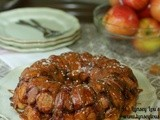 Salted Caramel Apple Monkey Bread