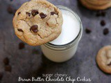 Super Chewy Brown Butter Chocolate Chip Cookies