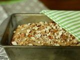 Wc Recipe Swap:Caramel Almond Oatmeal Banana Bread