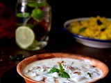 Baigan ka Raita, Brinjal and Yogurt Dip