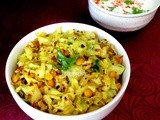 Cabbage and Chana Daal Subzi