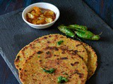 Cabbage Thepla Recipe,How To Make Cabbage Paratha