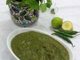 Green Chutney /Mint and Coriander Chutney