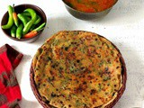 How to Make Mint Paratha, Pudina Paratha