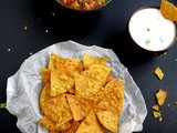 How to Make Tortilla Chips ,Nacho Chips