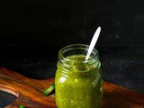 Instant Green Chili Sauce