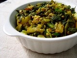 Mooli Bhujiya / Stir Fried Raddish