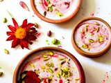 Strawberry Phirni