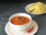 Tomato Chutney Recipe (For Idli and Dosa)