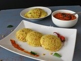 Vermicilli and Semolina Idli