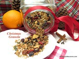 Christmas Oat Granola – a Healthy Festive Breakfast