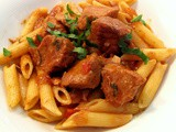 Corsican Veal Stew with Red Peppers