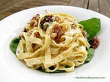 Goat Cheese & Walnut Pasta Sauce