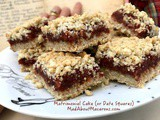 Matrimonial Cake – Oaty Shortbread Date Squares