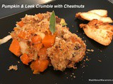 Pumpkin Leek Crumble – for Festive Turkey Leftovers