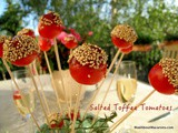 Salted Toffee Cherry Tomatoes