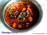 439 : Naranga Curry / Sweet and Tangy Lemon Curry