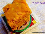 502: Seven Cup Burfi/ 7 Cup Cake