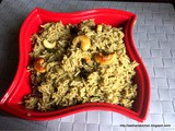 Coconut Milk Pulao / Thengai Pal Sadham
