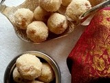 Rava Laddu / Ladoo (Sweet semolina balls with raisins and cashews) | Diwali Sweets Recipe | Diwali 2013 Recipes