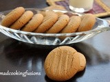 Peanut Butter Cookies – Eggless Recipe