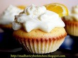 Orange cup cake with Orange cream frosting