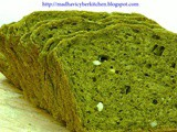 Palak Bread or Spinach Bread