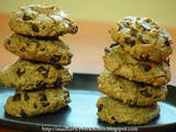 Rye flour Chocolate Chip Cookies