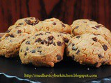 Tofu Chocolate Chip cookies – Guest Post for Vidya