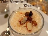 Simple Mother's Day Dessert- Thin Vermicelli Kheer | Thin Semiya Payasam | Indian Sweets