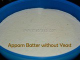 Appam Batter / How to grind Appam batter in mixie