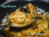 Egg Biryani recipe | How to make Muttai Biriyani | Biryani recipes