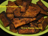Elephant Foot Yam Fry Recipe | Sennai Kilangu Roast