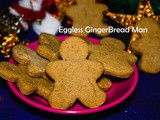 Ginger Bread Man Cookies recipe / Eggless Gingerbread Man Cookies recipe – Christmas recipe