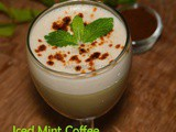 Iced Mint Coffee / Cold Coffee recipe – Summer recipes