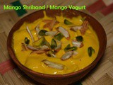 Mango Shrikand recipe / Mango Yogurt recipe / Mambala Thayir