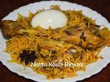 Naatu Kozhi Biryani / Cornish Chicken Briyani /Country Chicken Biriyani